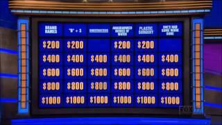 Ghostbusters Category on Jeopardy!