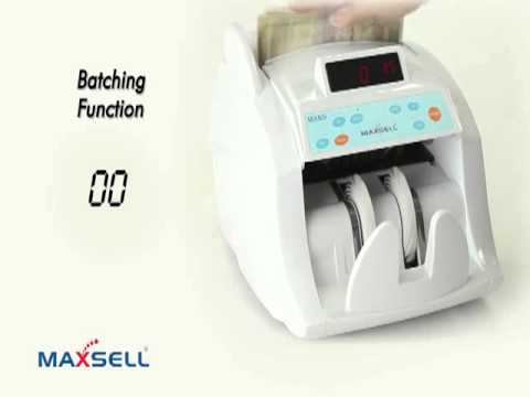 MX50i - Intelligent Note Counting Machine by Maxsell, Chennai