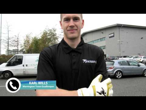 Troy Townsend Talks with Karl Wills - Warrington Town Goalkeeper