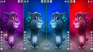 Learn Colors with My Talking Tom Colours for Kids Animation Education Cartoon Compilation P1F