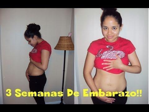 3 Semanas De Embarazo (1 mes de Embarazo) - Pregnancy Belly 3 ...