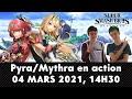 ?[FR] Smash Bros. Direct : Présentation DLC Pyra/Mythra de Xenoblade Chronicles 2 | Live Reaction