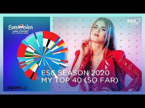 EUROVISION SEASON 2020: MY TOP 40 (so far) +