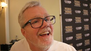 """FREDDIE ROACH SAYS KEITH THURMAN """"SUCKED"""" AND LOOKED """"TERRIBLE"""" IN LAST FIGHT WITH JOSESITO LOPEZ"""