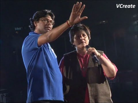 Falguni Pathak's Final Rehersal For Navratri 2012. video