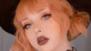 basic witch • autumn makeup tutorial • beauty marks