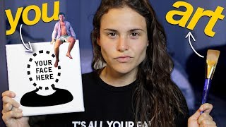 MAKING ART WITH YOUR FACE (yes YOU)  | AYYDUBS