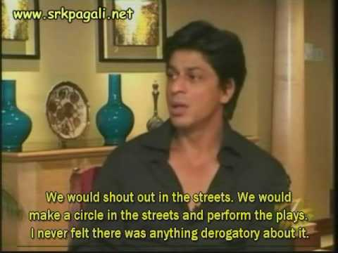 Shahrukh talks about Salman Khan Bollywood Baazigar interview...