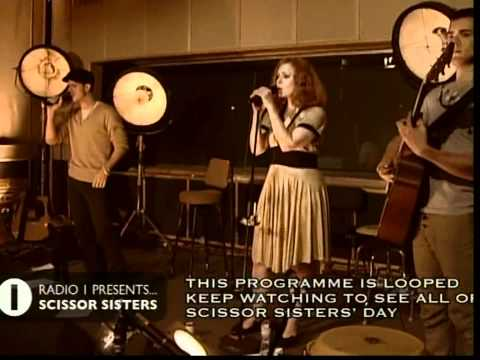 Scissor Sisters at Radio 1 Part 4 of 4 Mary