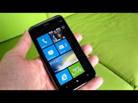 HTC Titan II LTE Windows Phone for AT&T - live CES 2012 hands-on