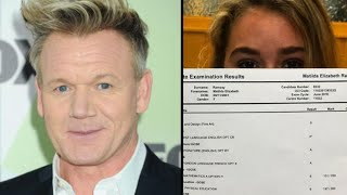 Gordon Ramsay Gives Daughter 'D' In Cooking As She Collects GCSE Results