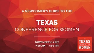 TX Conference for Women 2017 Newcomer