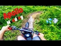 Apollo 125cc dirt bike  MUDDING *ripping the trails*