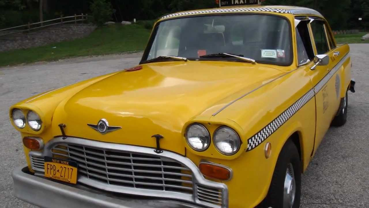 1981 Checker Cab - Former NYC taxi A11 - YouTube