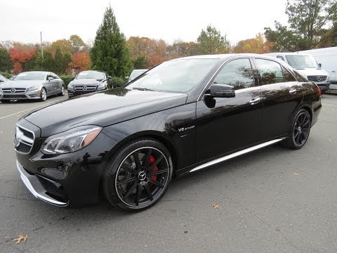 2014 Mercedes-Benz E63 AMG S 4Matic Start Up. Exhaust. Drive. and In Depth Review