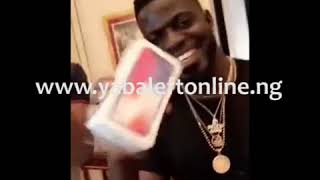 Davido buys iPhone X for all of his team members