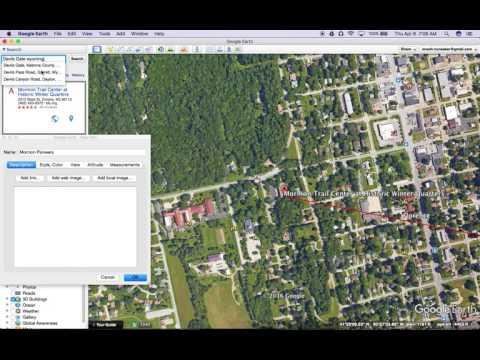 Google Earth Tutorials  Create a Path