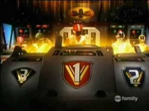 Power Rangers Lightspeed Rescue and Lost Galaxy Teamwork Part 2 - Zords Battle