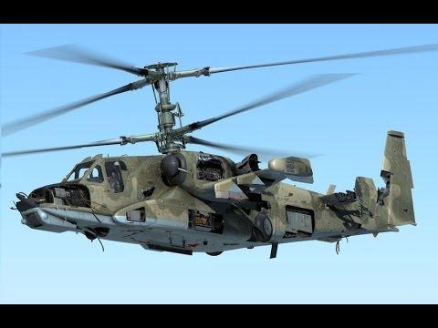 Боевой ударный вертолет Ка-50.