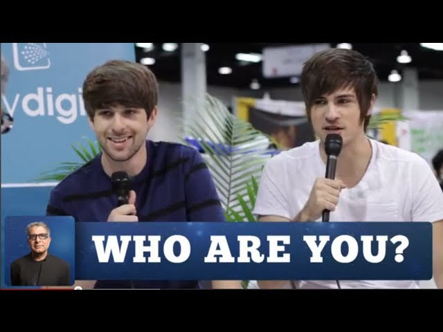 Smosh Gets Deep With Deepak Chopra | WHO ARE YOU?