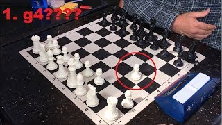 I Can't Believe This Guy Played The Grob Gambit vs. The Great Carlini!