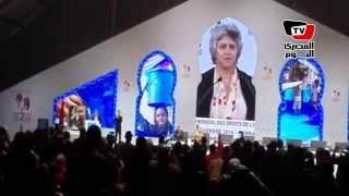 زوجة شكرى بلعيد تستحضر ذكرى زوجها بترديد أبيات