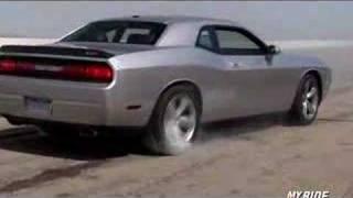 2008 Dodge Challenger Burn Out