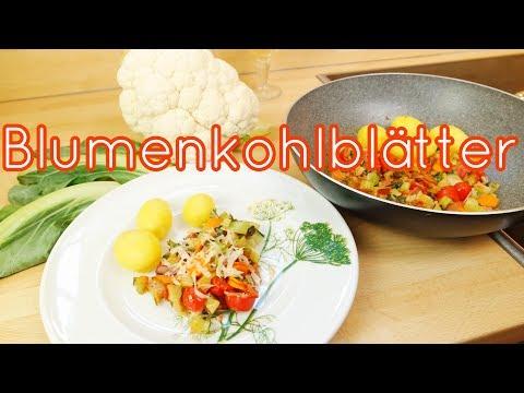 DIY - wie koche ich BLUMENKOHL bzw. BLUMENKOHLBLÄTTER-einfach selber kochen