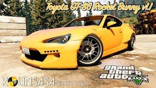 GTA 5 Crash test - Toyota GT-86 Rocket Bunny v1.1