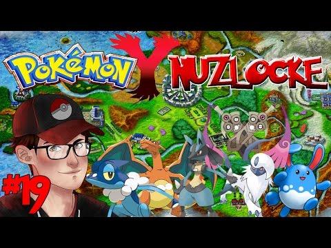 Pokemon Y Nuzlocke - Ninja Fashion - Episode 19! video