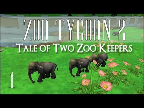 Zoo Tycoon 2 Collab! Tale of Two Zoo Keepers - Episode #1