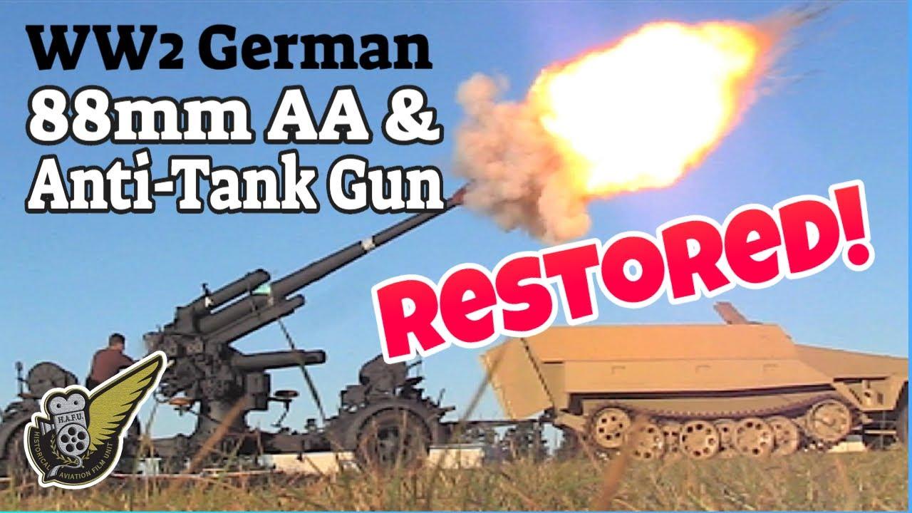 Anti-aircraft Gunfire 88mm Flak Ww2 Anti-aircraft