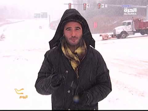 Massive snow storm in Washington DC area