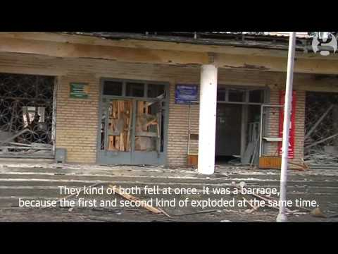 Ukraine war: Donetsk hit by shells as violence intensifies in Ukraine