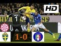 Download Sweden vs Italy 1-0   All Goals & Highlights   World Cup Qualifiers 10/11/2017 HD in Mp3, Mp4 and 3GP