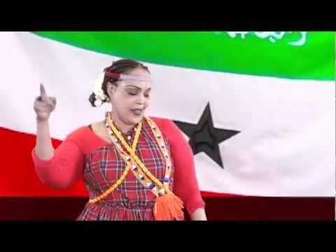 AMINA AFRIK iyo hees cusub oo calanka Somaliland loo sameeyey!
