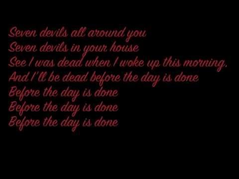 Seven Devils - Florence and the Machine Lyrics