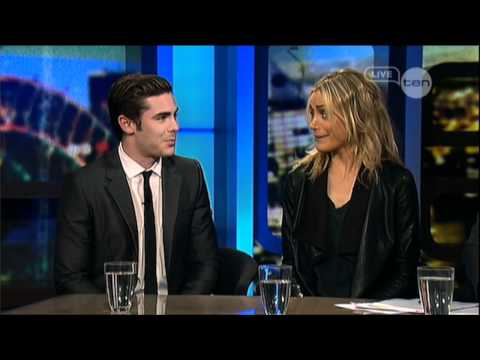 Zac Efron & Taylor Schilling Interview - The Lucky One - The Project (2012) video