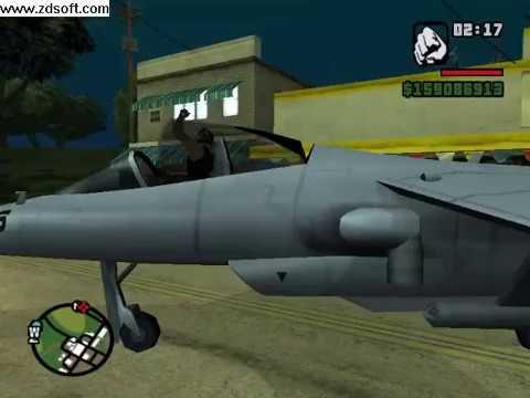 Como conseguir moto NRG 500 y un super avion gta san andreas
