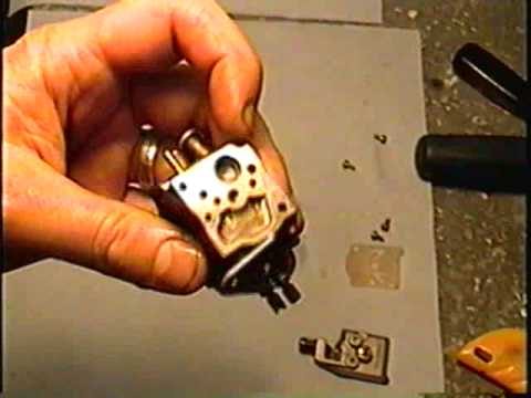 HOW TO Disassemble Poulan 2150 Chainsaw Walbro Carburetor