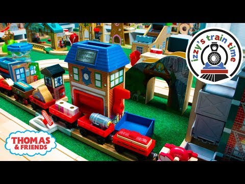 Thomas and Friends | DISPENSARY TRACK WITH THOMAS TRAIN | Fun Toy Trains for Kids with Brio