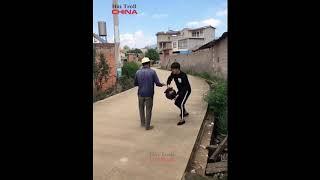 Hài troll Trung Quốc, China -  troll đường phố - Xem xong đừng cười P 5
