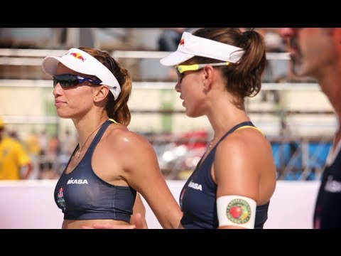 Brazilian Beach Volleyball Tournament - Red Bull Latitude Zero 2012