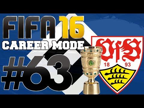 FIFA 16   Bundesliga Career Mode   #63   Deutscher Pokal Final v Stuttgart