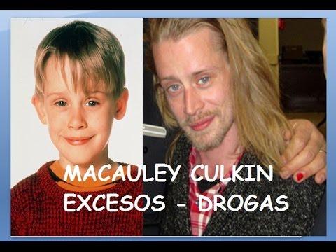 MACAULEY CULKIN, DROGAS, ALCOHOL, EXCESOS (MI POBRE ANGELITO, SOLO EN CASA) - MS ANDREW