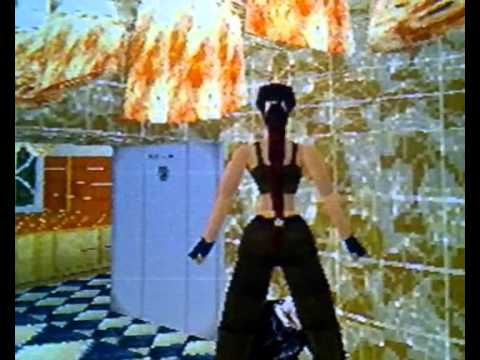 Lara Croft Vs The Pervy Butler from Tomb Raider 2