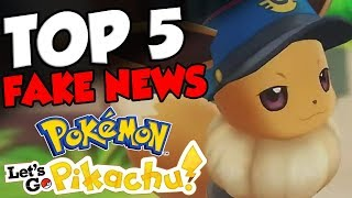 TOP 5 MISCONCEPTIONS About Pokemon Let's Go Pikachu and Pokemon Let's Go Eevee!