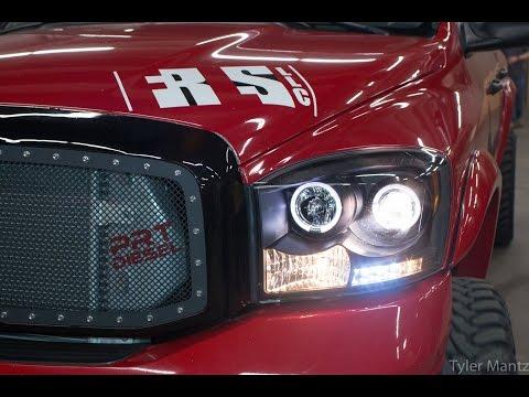 Twin Turbo Ram 2500 on the dyno | PRT Diesel