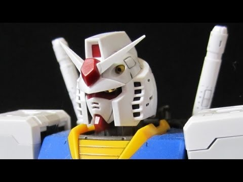 RG Gundam (Part 5: Parts b) Real Grade 1/144 RX-78-2 gunpla review