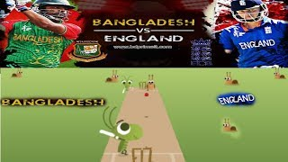 ICC Champions Trophy 2017: (BAN vs ENG) Funny Cricket Match From Google